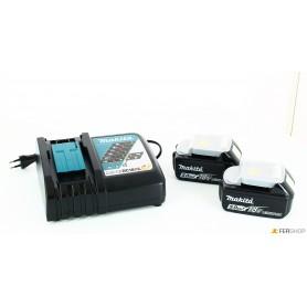 Ladegerät makita - 197624-2 - + 2 batterien