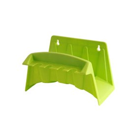 Schlauchaufroller für wand - kunststoff - sortierte farben