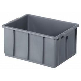 Cassa industriale - l.32  49x42 h.20 - grigio