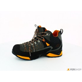 Schuh anthrazit/orange - tg.43 - mountain tech w3 wp s3