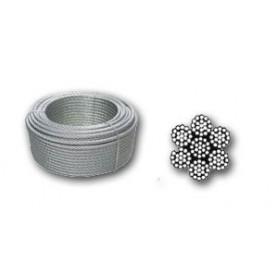 Drahtseile: Stahl, Seile mit Ringen, antiturn Seile, Stahlkabel ...
