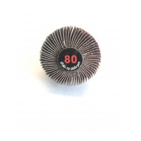 Schleifbürste lamellata - 40x20x6 gr.80 - RLG