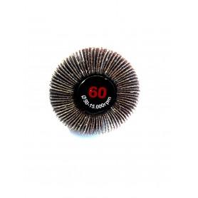 Weiche bürste lamellata - 50x20x6 gr.60 - rlg
