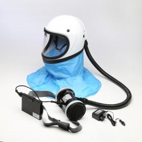 Elettrorespiratore kasco - helm - mit filter a2p3