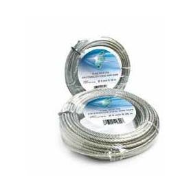Seil-stahl-133-draht - durchm. 3 x 50 meter. - rolle