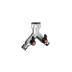 Griff wasserhahn 2 weg claber - 9602 messing - 3/4 - schnelle metal-jet