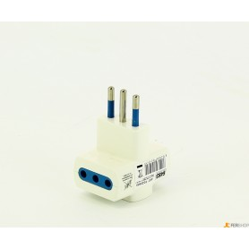 Adapter triple-FAEG - fg20505 - 10a-weiß