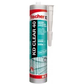 Kleb-und dichtstoff fischer - kd clear 40 - transparent