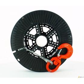 Kabel stahl x winde - d.mm.5.0-ml80 - c/haken drehbar