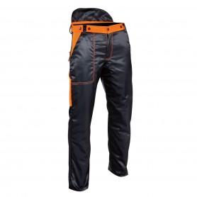 Hose mit hohem schnittschutz, graue om - tg.m - energy