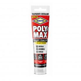 Bostik poly max high tack - gr.115-tube - transparent