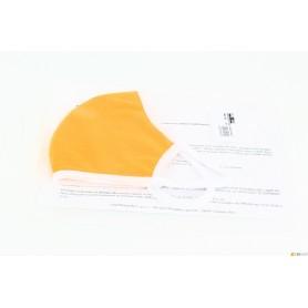 Schablone-stoff waschbar - orange - hohe qualität