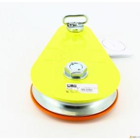 Seilrolle aufklappbar - kg.5000 - c - /lager - ap. stift