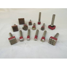 Bocciarda für hammer cuturi - durchm.10 9 spitzen - angriffs-12,5