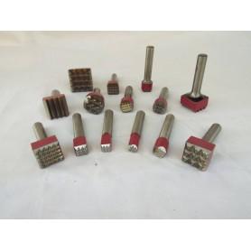 Bocciarda für hammer cuturi - 25 x 25 16-spitzen - angriffs-12,5