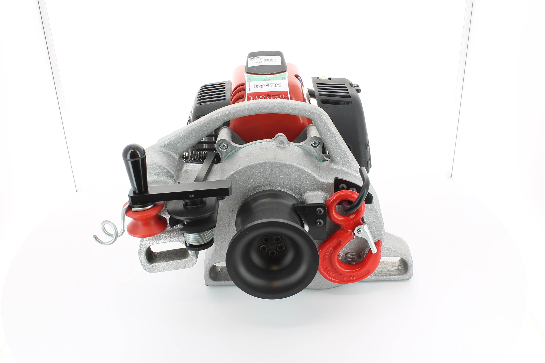 Motorwinde mit Seil DOCMA mt 100 - 80 vf bolt -